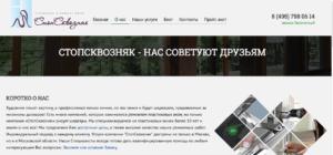 Пример сайта из ТЗ на разработку