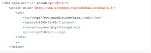 файл sitemap вид изнутри